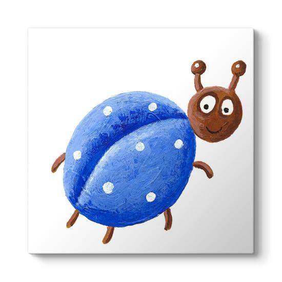 Mavi Böcek Tablosu
