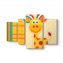 Bebek Zürafa Tablosu