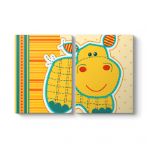 Şirin Hippopotam Tablosu