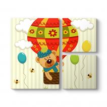 Balon ve Ayıcık Tablosu