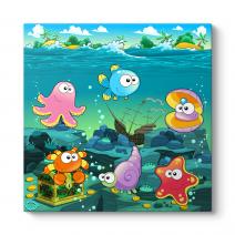 Deniz Altındaki Hayvanlar Tablosu