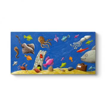 Sevimli Balıklar Tablo