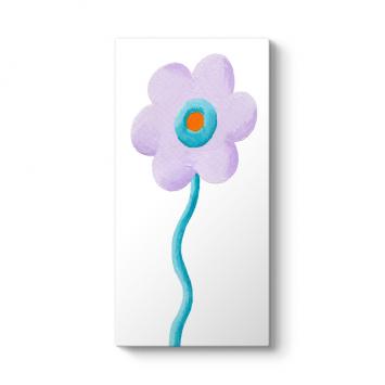 Lila Vertica Çiçek Tablosu