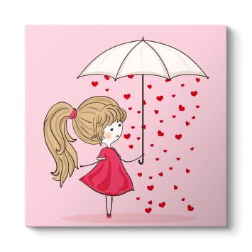 Kalp Yağmuru Tablosu