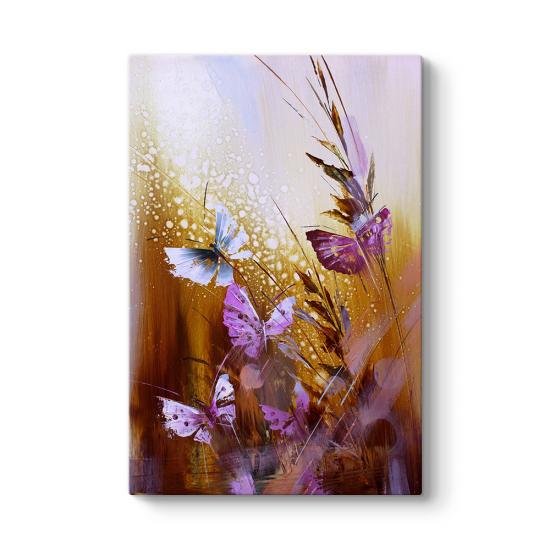 Butterfly Flower I Tablo