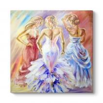 Three Beautiful Womens Tablo