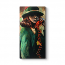 Red Telephone Tablo