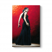Flamenco Dancer Tablo