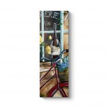 Bisiklet Yağlıboya Tablo