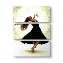 Balerin Canvas Tablo