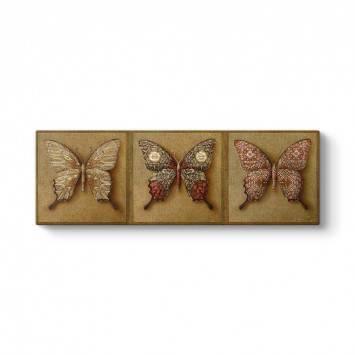 Modern Kelebekler Tablosu