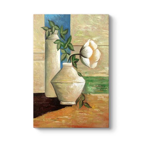 Eski Çiçek Vazo II Tablosu