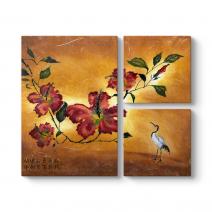 Çin Çiçeği Tablosu