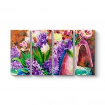 Taze Çiçekler Tablosu