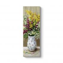 Eski Çiçek Vazo IV Tablosu
