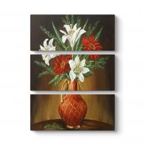 Eski Çiçek Vazo V Tablosu