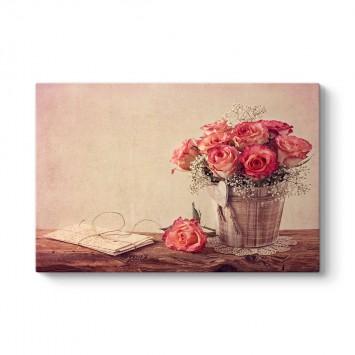 Plus Floral Tablosu