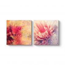 Soyut Çiçekler Tablosu