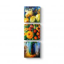 Çiçek Tuval Tablosu