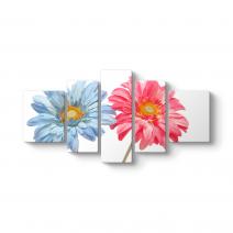 Deko Çiçek Tablosu