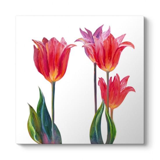 Lale Çiçek Art Tablosu