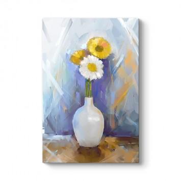 Yağlıboya Çiçek Tablosu