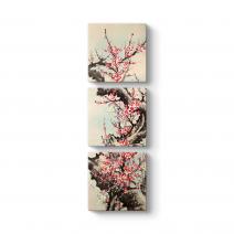 Çin Çiçeği Yağlıboya Tablosu