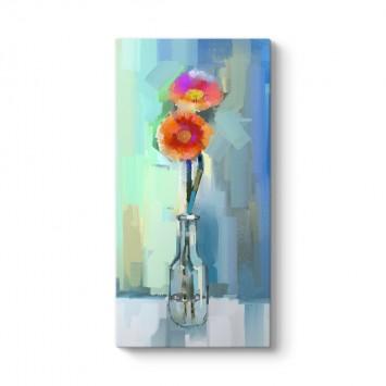 Vazodaki Çiçekler Vertica Tablosu