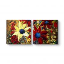 Flower Basket Tablosu