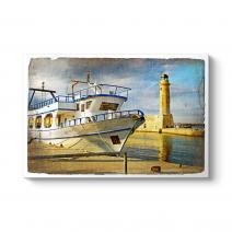 Deniz Feneri ve Tekne Tablosu