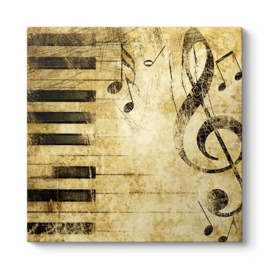 Piyano Tuşları Tablosu