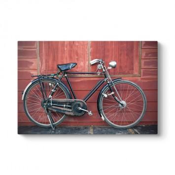Eski Nostaljik Bisiklet Tablosu