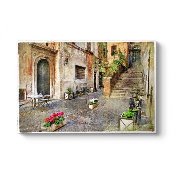 Roma Sokakları Tablosu