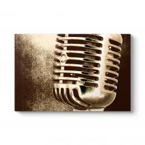 Eski Mikrofon Tablosu