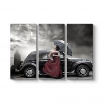 Car And Women Tablosu