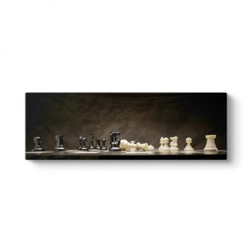 Satranç Panorama Tablo