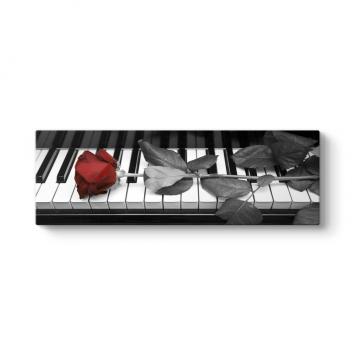 Piyano ve Güller Tablosu