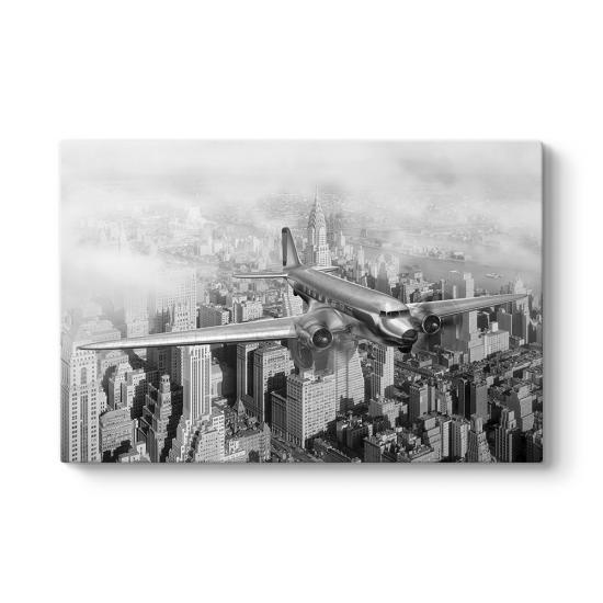 New York Üzerinde Uçak Tablosu