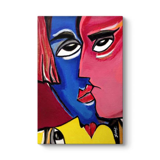 Colored Faces Tablosu