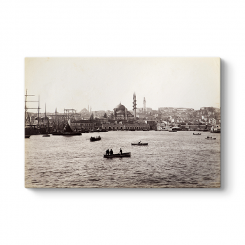 Eski İstanbul Denizi Tablosu