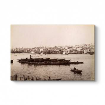 Eski İstanbul Boğazı Tablosu
