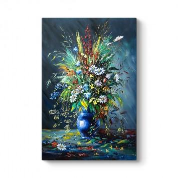 Vazodaki Çiçek Natürmort Tablo