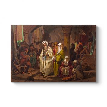 A. Preziosi - The Grand Bazaar Tablosu
