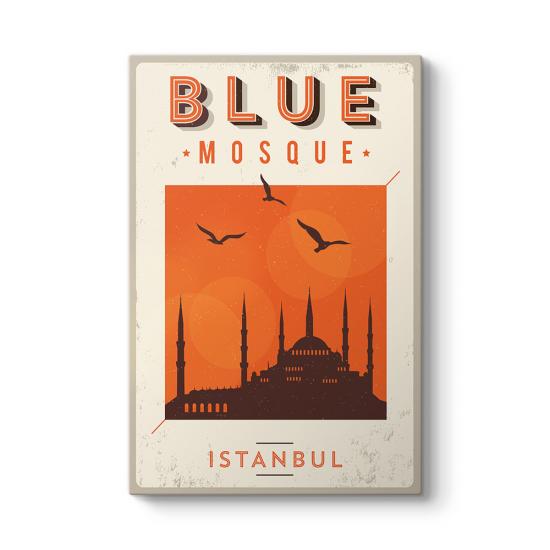 Blue Mosque Tablo