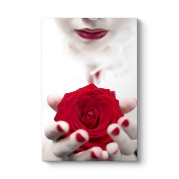 Lady Red Rose Tablosu