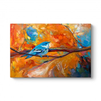 Kuş Yağlı Boya Tablo