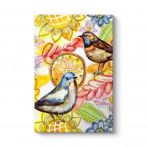 Dekoratif Kuşlar Tablosu