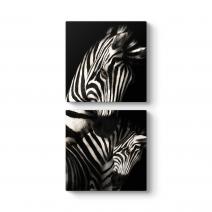 Desenli Zebra Tablosu