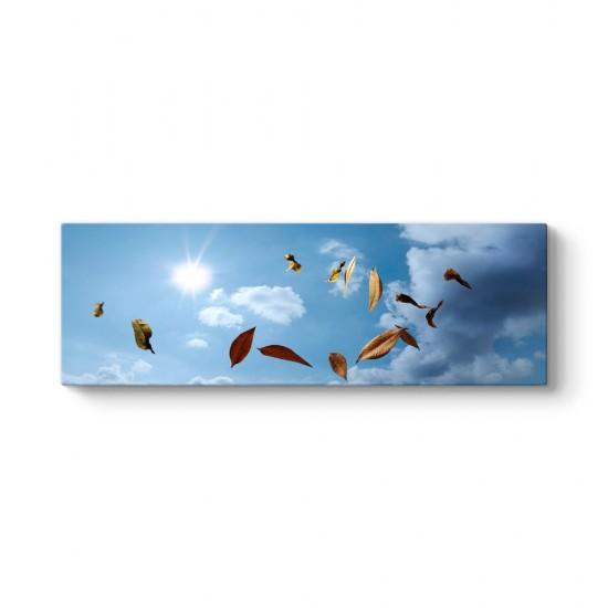 Uçuşan Yapraklar Tablosu