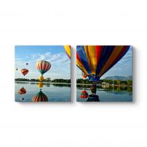 Renkli Balonlar Tablosu